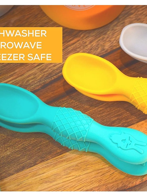 Baby silicone spoon,weaning led (2 PK)