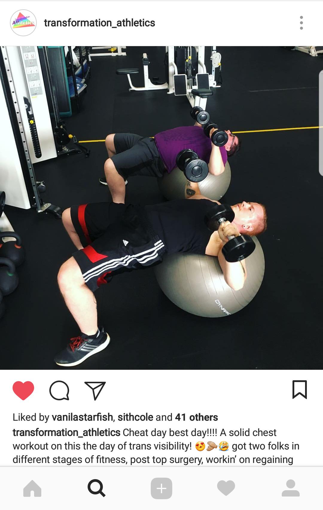 Trans Weight Training 101