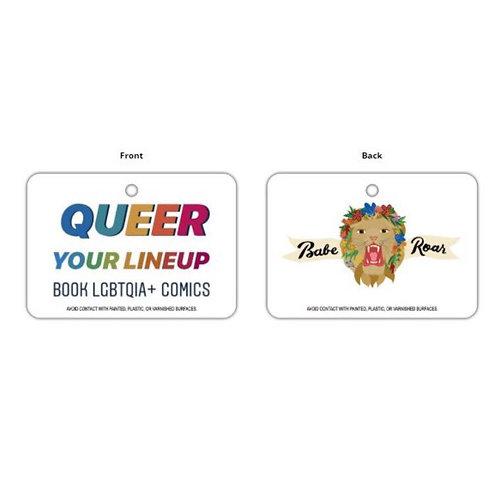 #QueerYourLineup Car Air Freshener (Pre-Order)