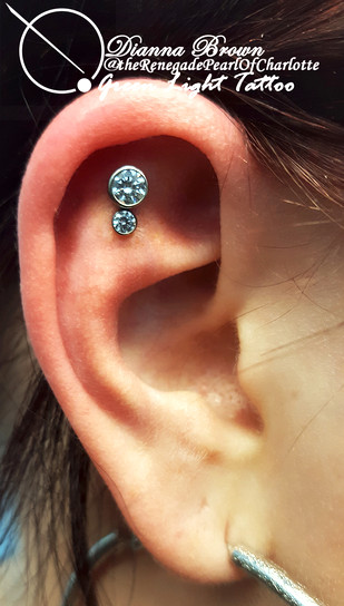 Helix with Anatometal cluster