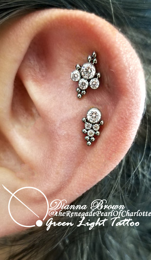Double Helix with Jewelry From LeRoi