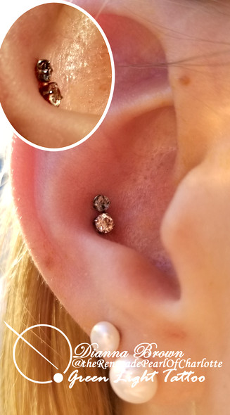 Double Conch Piercing