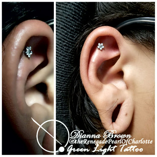 Helix with a NeoMetal Flower