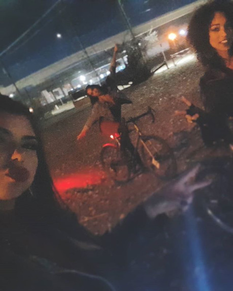 Filming for NITE RIDE