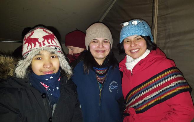 February 2, 2018 - Festivale de Voyageur, Edmonton AB