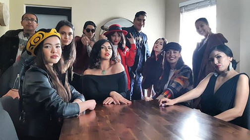 Boujee Natives Music Video Shoot