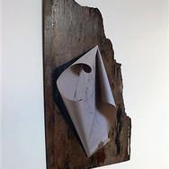 Martha Haversham 2011 scroll on driftwood 2.JPG