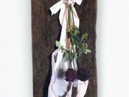 Ballet Shoes with Two Red Roses, 2011