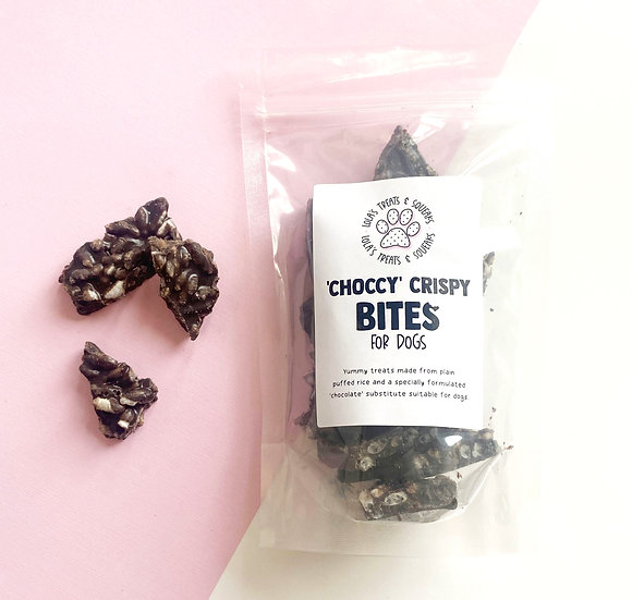 'Choccy' Crispy Bites