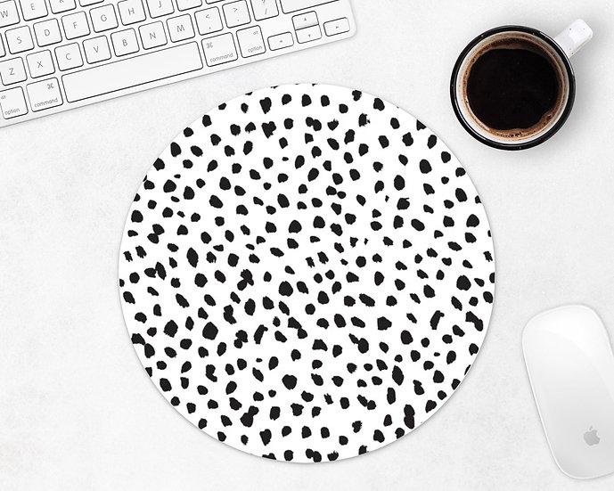 Dalmation Print Mouse Pad