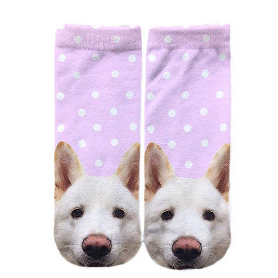 Pet Face Personalised Socks