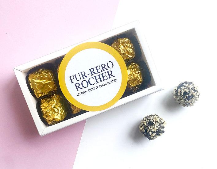Luxury Fur-rero Rochers Dog Chocolates