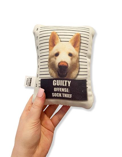 Mug Shot Squeaky Toy