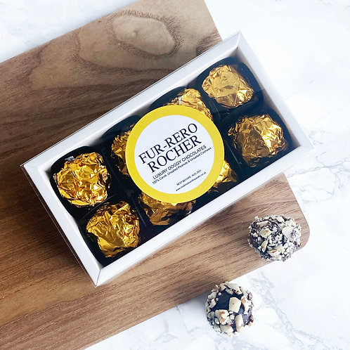 Luxury Fur-rero Rochers Dog Chocolates