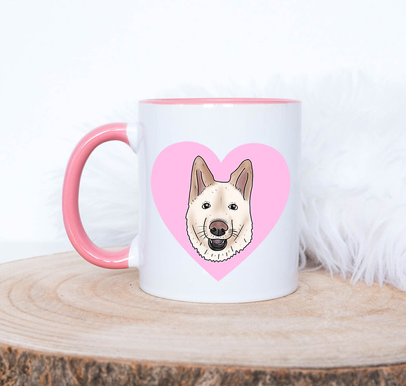 Personalised Pet Portait Mug