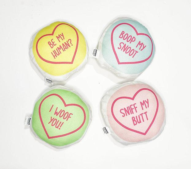 Love Heart Squeaky Toys