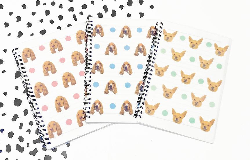 Pet Photo Notebook - A5