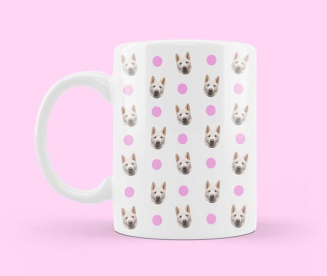 Pet Face Pattern Mug