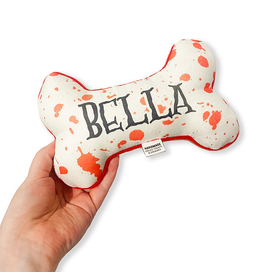 Howl-O-Ween Personalised Bone Toy