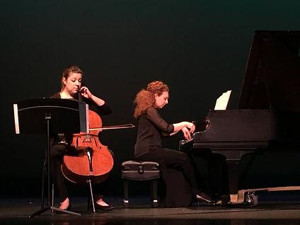 Piano and cello recital
