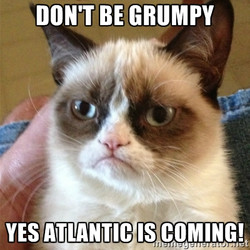 Don't be grumpy!