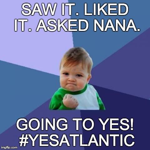 Cheers to Nana!
