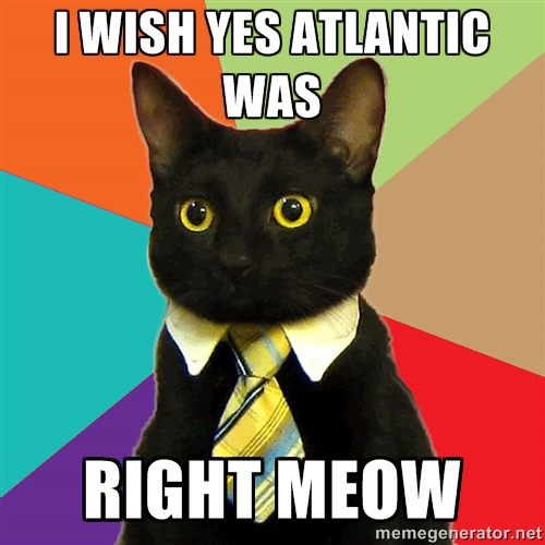 Business Cat Just Can't Wait!