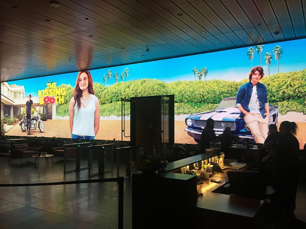 Lobby at Netflix Headquarters