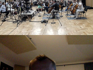 Recording the Score for Inherit The Viper