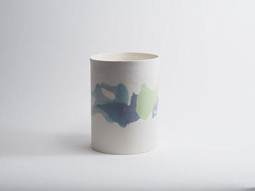 vase coloré moyen
