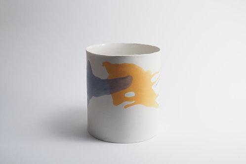 grand vase coloré