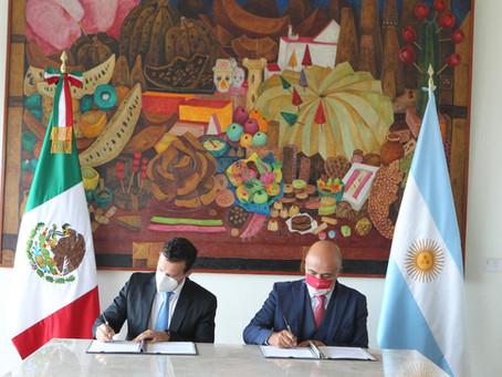 México y Argentina Reanudarán Negociaciones Comerciales en Septiembre 2021