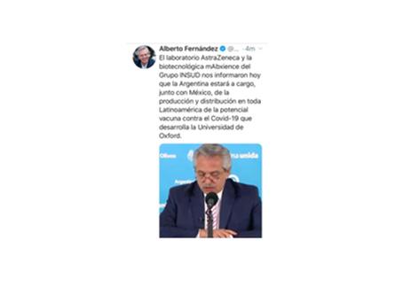México y Argentina fabricarán vacuna contra Covid de la Universidad Oxford
