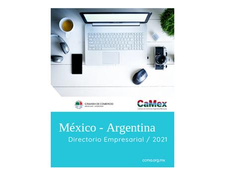 Forma parte del Directorio Empresarial México - Argentina 2021