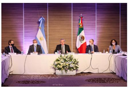 Como Primera Actividad en México, el Presidente Fernández se Reunió con Empresas Mexicanas