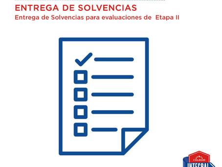 MAYO 1-10 Entrega de solvencias.