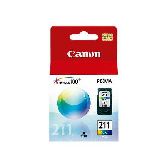 Tinta Canon CL211 Tricolor
