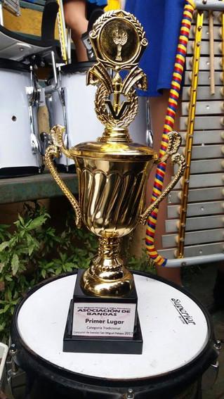 Eagle Bands CIA ganadores de Concurso de Bandas Municipal