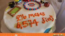 Concurso de pasteles - 18 años CIA