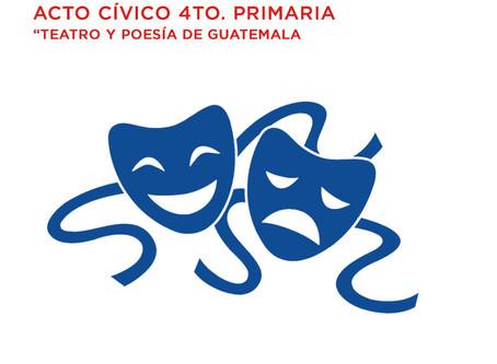 Marzo 2 Acto cívico 4to Primaria