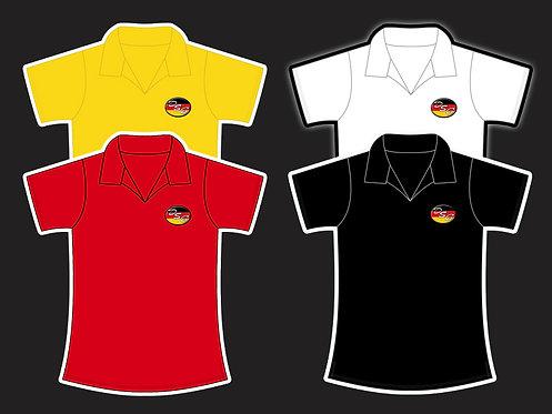 Camisa Polo Femenina (Tallas 2-8)