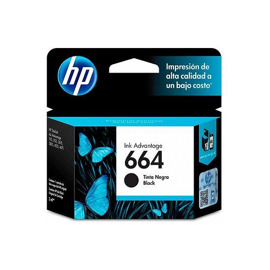 Cartucho HP 664 Bk