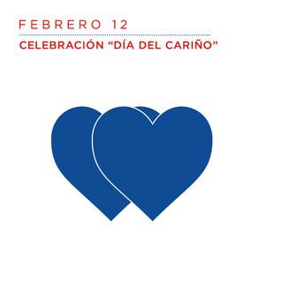 Feb 12-Celebración del día del Cariño