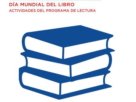 ABRIL 23 Día mundial del libro