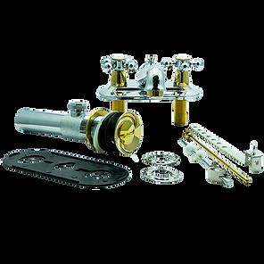 Mezcladora-para-lavamanos-cruz-cromo-oro