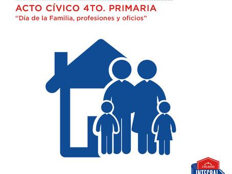 MAYO 12 Acto cívico 4to. Primaria
