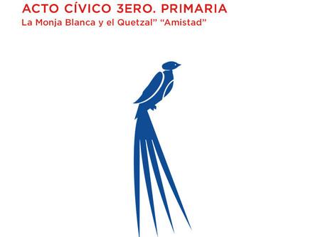 Feb - 23 Acto cívico 3ero. Primaria