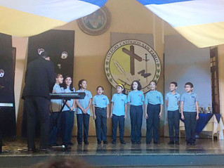 Presentación del Coro Escolar