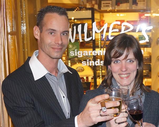 Xavier van Lijden en Yvette Wilmer