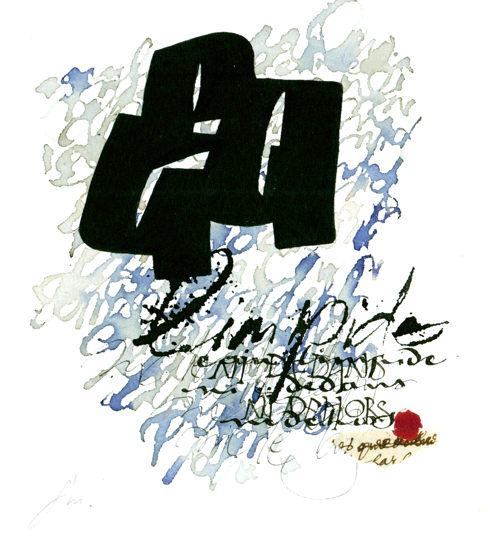 Françoise Michaud - calligraphie